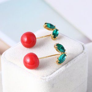 Kate Spade Cute Sweet Cherry Earrings